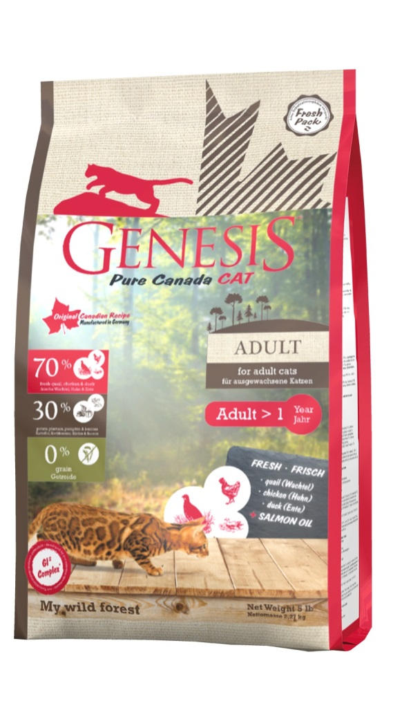Genesis Pure Canada My Wild Forest за израснали котки