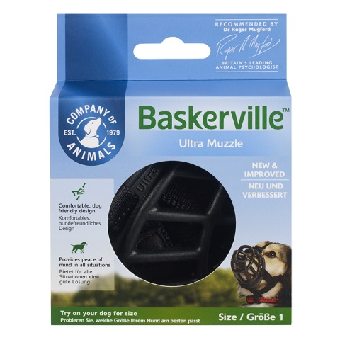 Намордник Baskerville Ultra от Company of Animals, Англия