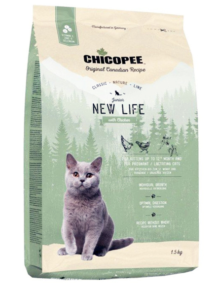Храна за котка Chicopee Classic Nature Line Kitten до 12 месеца