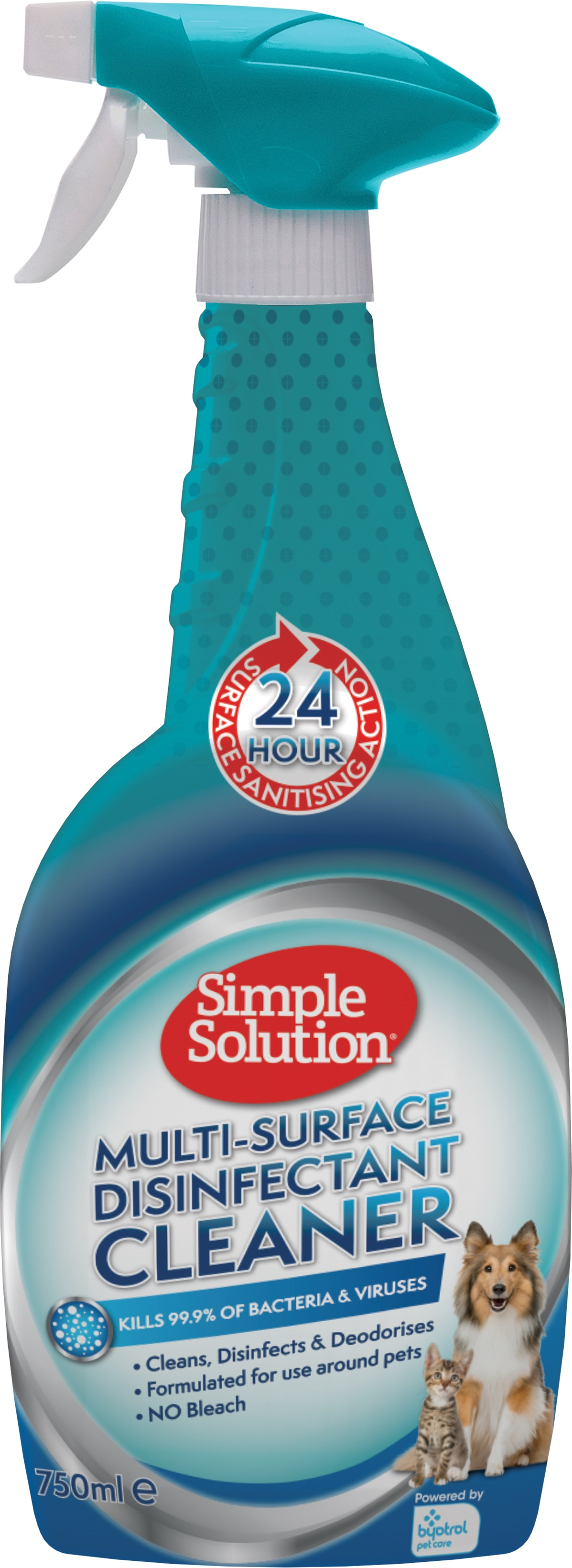 Simple Solution Multi-Surface Disinfectant , 750мл