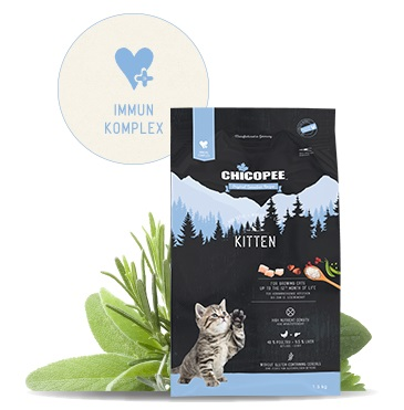 Храна за котка Chicopee Holistic Nature Line Kitten до 12 месеца, 8кг